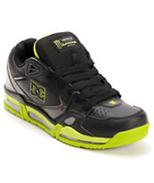 DC x Monster Versaflex Black, Charcoal & Lime Shoe