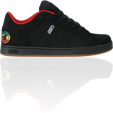DVS Charge Black & Rasta Nubuck Shoe