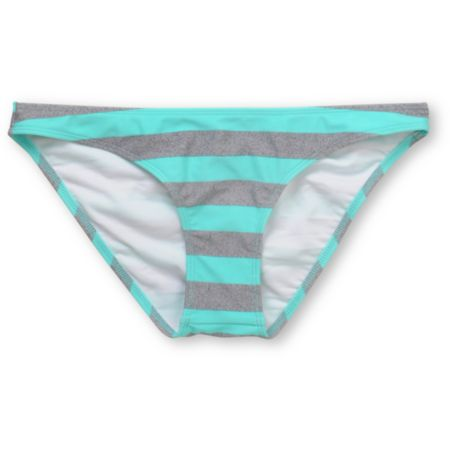 Empyre Girls Stilt Turquoise Striped Cinch Bikini Bottom