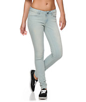 Empyre Women's Logan Sunbleach Skinny Jeggings