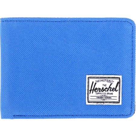 Herschel Supply Hank Blue Canvas Bifold Wallet