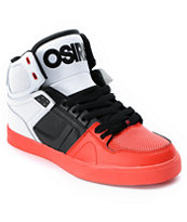 Osiris NYC 83 VLC Red, Black & White Shoe