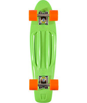 Penny Skateboards Green & Orange 22.5 x 6 Cruiser Complete Skateboard