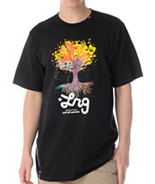LRG Vision Tree Black Tee Shirt