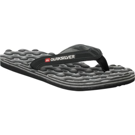 Quiksilver Traction Black & Grey Sandals