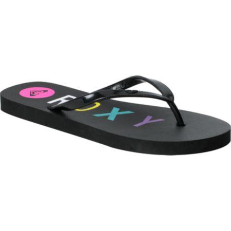 Roxy Bahama III Black Sandals