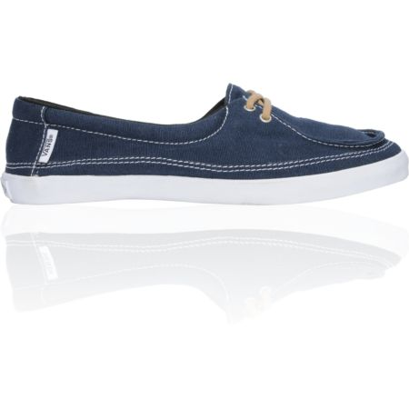Vans Girls Rata Lo Navy & Tan Hemp Shoe
