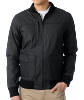 KR3W Anson Black Waxed Canvas Jacket