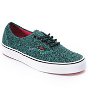 Vans Authentic Speckle Blue Turquoise Shoe