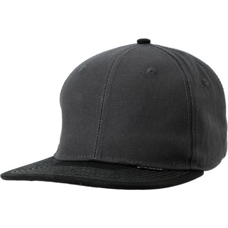 Empyre Grade Up Waxed Black Snapback Hat