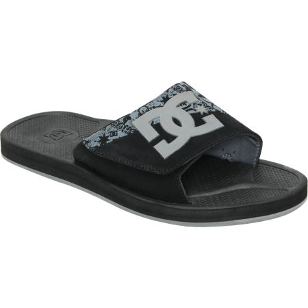 DC Graffik Slide Black & Grey Sandals