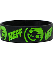 Neff Buzz Black & Slime Green Bracelet