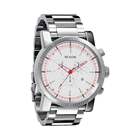 Nixon Magnacon SS White SR Guys Chronograph Watch