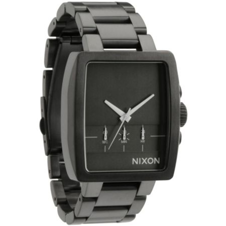 Nixon Axis All Gunmetal Guys Analog Watch