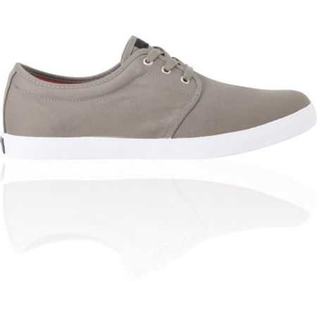 Dekline River Charcoal & Burgundy Twill Skate Shoe