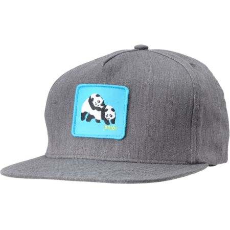 Enjoi Not Hump Charcoal Snapback Hat