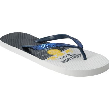 Corona Girls Label White Flip Flop Sandals