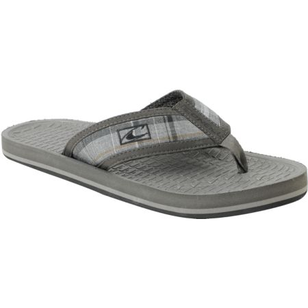 ONeill Koosh Patterns Grey Flip-Flop Sandals