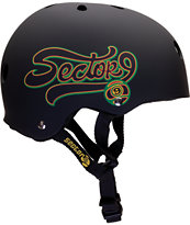 Sector 9 Swift Black Skateboard Helmet