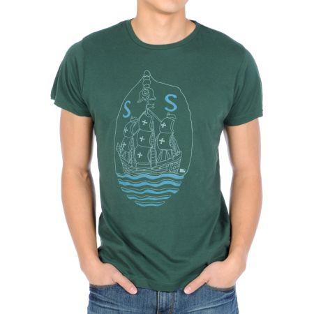 Tea In The Woods San Sebastian Green Tee Shirt