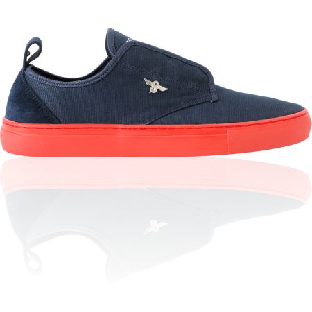 Creative Recreation Lacava Navy & Red Canvas Shoe