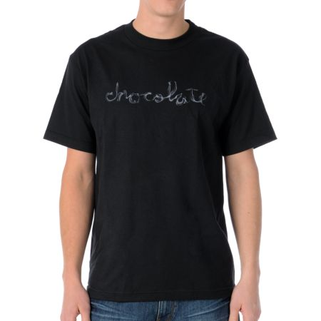 Chocolate Smoke Black Tee Shirt