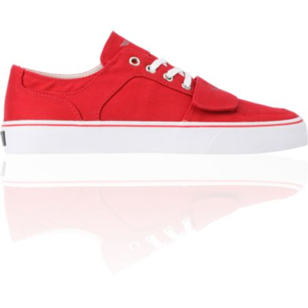 Creative Recreation Cesario Lo XVI Red Canvas Shoe