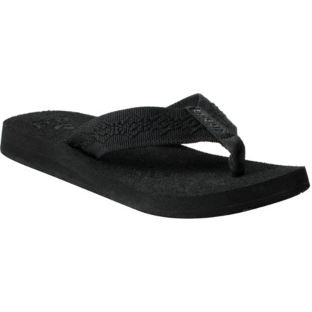 Reef Girls Sandy Black Sandals