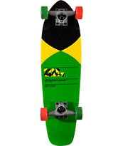 Gold Coast Pier Yellow Mini Cruiser Skateboard