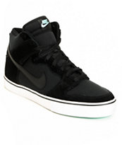 Nike 6.0 Dunk High LR Black & Tropical Twist Teal Skate Shoe