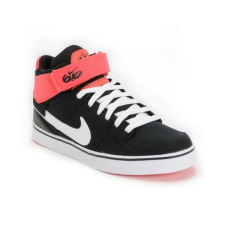 Nike Air Mogan Mid 2 LR Black & Infared Shoe