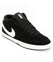 Nike 6.0 Mavrk Mid 3 Black & White Shoe