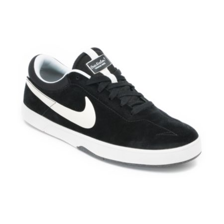 Nike SB Eric Koston 1 Lunarlon Black & White Skate Shoe