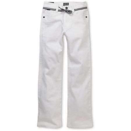 Empyre Boys Skeletor White Slim Jeans