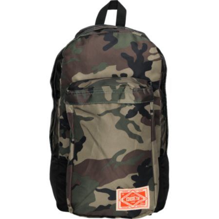 Obey Commuter Camo & Black Backpack