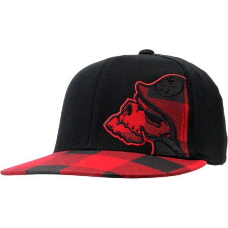 Metal Mulisha Credit Black & Red Flexfit Hat
