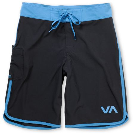RVCA Eastern 21 Black & Blue Board Shorts