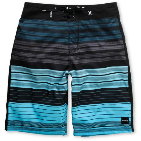 Hurley Sets Cyan Blue Stripe 22 Board Shorts