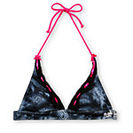 Metal Mulisha Sarina Lace Black Halter Bikini Top