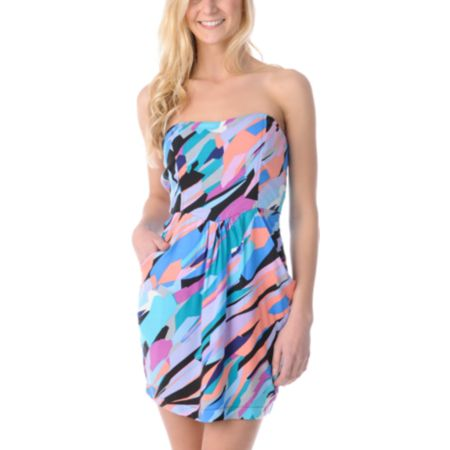 STS Blue Paint Party Tube Dress