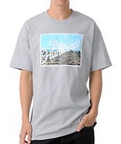 The Hundreds Title Scene Grey Tee Shirt