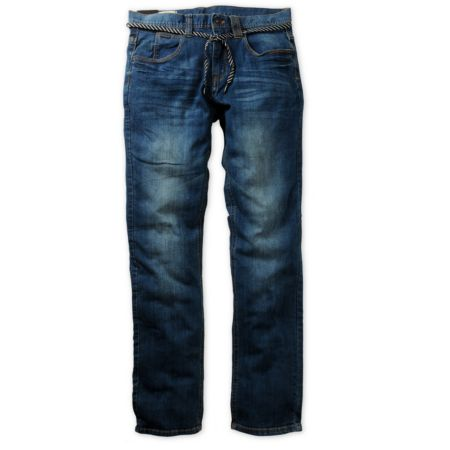 Empyre Skeletor Medium Blue Slim Jeans