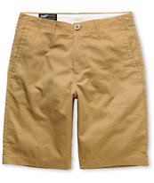 Volcom Fairmondo 21 Khaki Chino Shorts