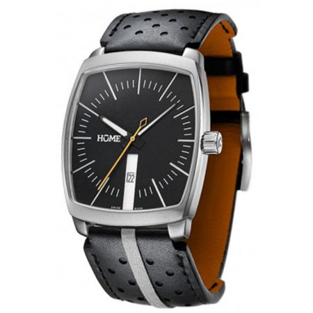 Home G-Class Black & Orange Analog Watch