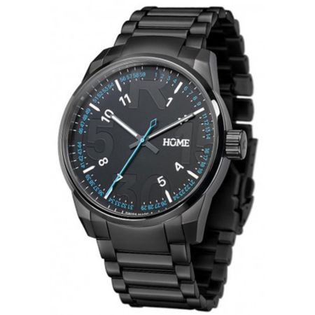 Home R-Class After Dark Black Swiss Analog Watch