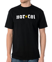 Nor Cal Medieval Black Tee Shirt