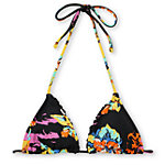 Volcom Girls Night Tropics Triangle Bikini Top