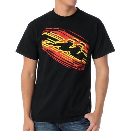 FMF Cut Off Black Tee Shirt