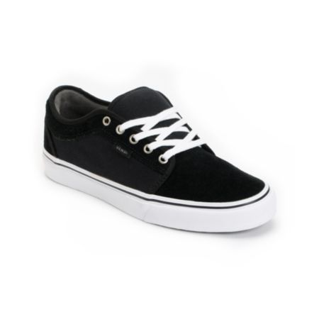 Vans Chukka Low Black, Pewter & White Skate Shoe
