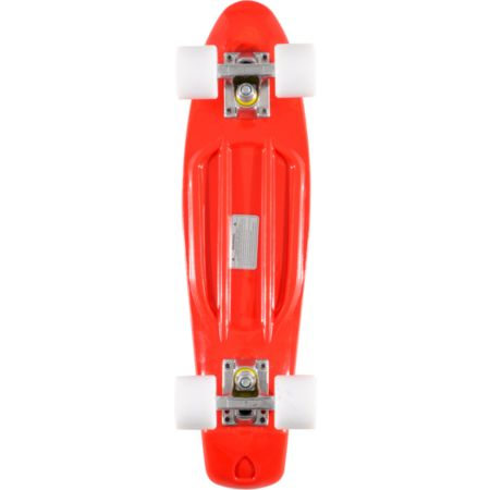 Stereo Vinyl Cruiser Red Complete Cruiser Board